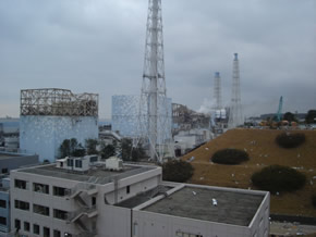 Photo 4. Unit 1 - 4 of Fukushima Daiichi Nuclear Power Station